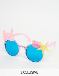 Bild 1 von Spangled – Mermaid and Shell – Sonnenbrille in Rosa