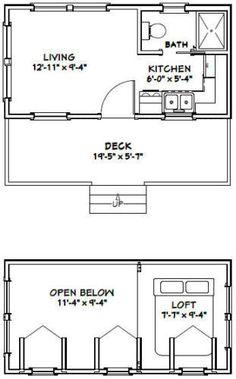 Tiny House Dimensions Tiny House Ideas Pinterest