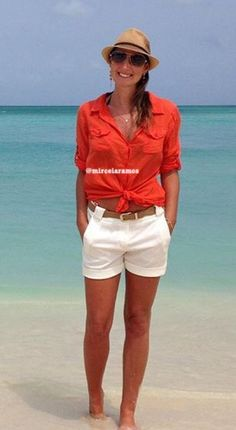 Look de viagem - look Cruzeiro - Caribe outfit - Caribe style - Cruice  outfit - Cruice style - look de férias - travel style - chapéu - look praia  - beach ... 5826eb266d3