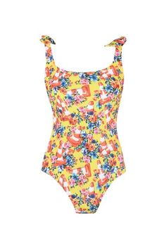 The Best One-Piece Swimsuits To Sun Yourself In #refinery29  http://www.refinery29.com/monokini-one-piece-bathing-suits#slide-4  Just think how good this '80s number will look with short-shorts at a music festival.Moschino One-piece Suit, $375, available at Moschino....