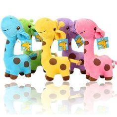 Online Cheap Unisex Baby Kid Child Girls Cute Gift Plush Giraffe Soft Toy Animal Dear Doll Christmas Birthday Happy Gifts18 X 17 Cm By Kingchanging | Dhgate.Com