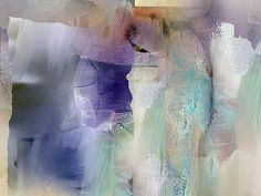 Intuitive Purple by Anivad - Davina Nicholas  i would love to have one of her pieces