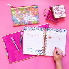 Get organized with the NEW @lillypulitzer #agendas! Now featured in The Gift Shop! #shopdewaynes #agenda #getorganized