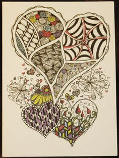 "Search Results for ""Zentangle"" – This Artistic Life Pen Doodles, Doodles Zentangles, Heart Doodle, Doodle Art, Doodle Patterns, Zentangle Patterns, Doodle Inspiration, Zen Art, Bobbin Lace"