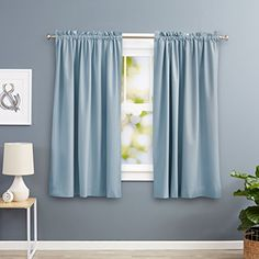 Blackout curtains guarantee that no curious looks will reach the inside of your home, while also reducing the temperature and blocking the outside noise.