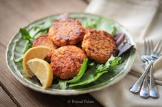 Paleo Salmon Cakes - these were a hit with my family and fairly easy to make. Picking out fish bones was the most time consuming part.