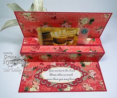 Thank You pop up gift card holder by scrappigramma2 - Cards and Paper Crafts at Splitcoaststampers