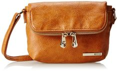 Kenneth Cole Reaction Wooster Street Fold Over Flap Mini CrossBodySaddleOne Size >>> Click image for more details.