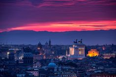 #Sunset #Roma #Rome #Italy