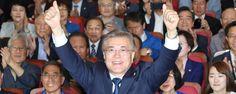 방송3사 출구조사, 문 41.4% 홍 23.3% 안 21.8%: S KOREA 19TH NEW PRESIDENT ELECTED !