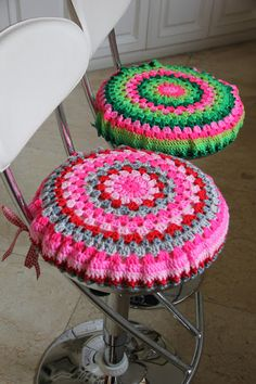homemade@myplace  stool covers