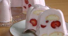 Zobrazit detail - Recept - Torta z bieleho jogurtu No Bake Pies, No Bake Cake, Delicious Desserts, Yummy Food, Ice Cream Candy, Czech Recipes, Desert Recipes, Mini Cakes, Cake Cookies