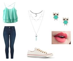 First Date by pinkiepie22 on Polyvore featuring polyvore fashion style J Brand Converse clothing
