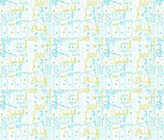 Friends in Neverland fabric by majoranthegeek on Spoonflower - custom fabric