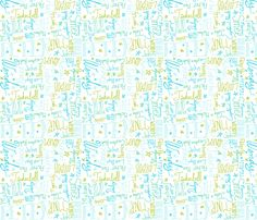 Friends in Neverland fabric by majoranthegeek on Spoonflower - custom fabric