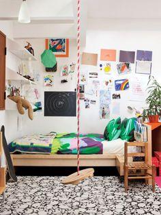 Indoor Children's Swing Shot for Dwell Magazine, Remodelista