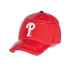 """It's hats off to America's favorite pastime with our NEW Major League Baseball™ Collection. These officially licensed warmers are """"stitched"""" with your team's logo and look great next to the game ball on your shelf. New MLB Warmers added today! Major Baseball, Baseball Cap, Baseball Season, Mlb, Philadelphia Baseball, Electric Wax Warmer, Scented Wax Warmer, Wax Warmers, Favorite Pastime"""