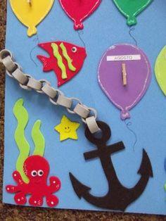 Resultado de imagen para decoração sala de aula fundo do mar