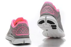 Womens Nike Free Run 3 Running Shoes Polarized Pink Reflective S