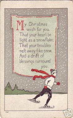 My Christmas Wish for you... For my family and friends far & near, close and estranged, everyone deserves love at Christmas.