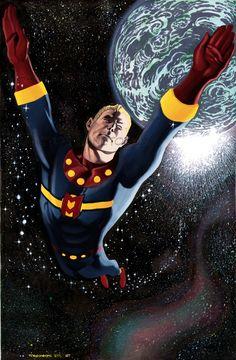 Chris Stevens Marvelman Comic Art