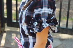 Nancy Jane Short Sleeve Top by SeersuckerRuffles on Etsy