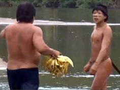 Watch as Amazonian tribe makes contact with outsiders for first time in centuries