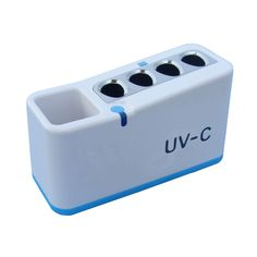 Hot!!! Household Type CE/RoHs/FCC Approved Anti Ebola Viruses UVC Toothbrush Disinfector