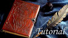 Cómo hacer un libro artesanal. Tutorial de encuadernación | How to make ...