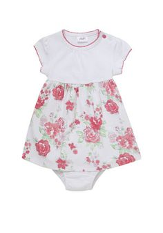 F&F Floral Dress and Knickers Set £8