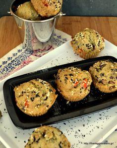 πανάλαφρα νηστίσιμα μάφιν με ελιές Vegetarian Recipes, Cooking Recipes, Healthy Recipes, Cupcake Recipes, Cupcake Cakes, Cupcakes, Appetizer Recipes, Appetizers, Bread Art