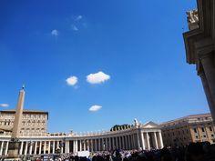 Sob o Céu do Vaticano - Roma - Itália