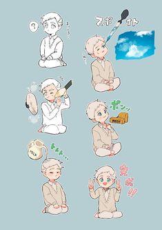 Norman (Yakusoku no Neverland) Fanarts Anime, Anime Chibi, Kawaii Anime, Anime Characters, Manga Anime, Anime Art, All Anime, Otaku Anime, Anime Guys