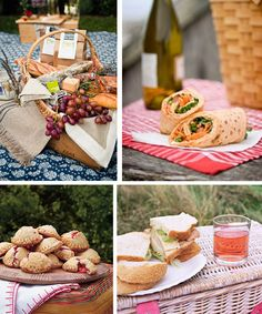 Picnic Food Ideas: wraps could be made at least a day ahead, pressed hand pies eliminate the need for pie tins