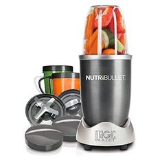 Magic Bullet NutriBullet High-Speed Blender/Mixer System -- Special offer just for you. Best Smoothie Blender, Smoothie Mixer, Mini Blender, Good Smoothies, Breakfast Smoothies, Smoothie Recipes, Fruit Smoothies, Cantaloupe Smoothie, Oatmeal Smoothies