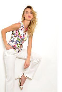 Pause Café, Pret A Porter Feminin, Catalogue, Floral Tops, Women, Fashion, Spring Summer, Ongles, Womens Fashion