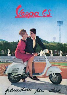 Vespa & vintage 1962