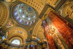 Budapest, St. Stephen's Basilica (cupola)