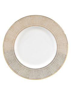 Gilded Weave Accent Salad Plate by Vera Wang Wedgwood at Gilt
