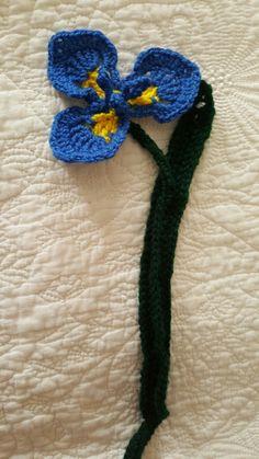 Lirio Silvestre (crochet)