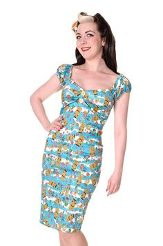 Collectif - Dolores Tiki Dress