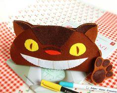 diy pattern for cat bus pencil case