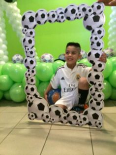 Soccer Theme Birthday Party Ideas   Photo 1 of 12