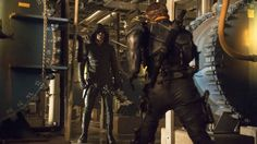 Arrow Season 2 Episode 23 : Unthinkable. Storyline : As Oliver's face off with Slade escalates, his resolve to the no-kill rule is tested. Especially as Slade targets the woman Oliver loves.