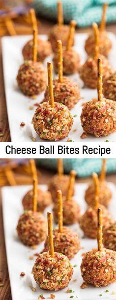 The Perfect Tuna Melt Recipe – Sanji Recipe Cheese Ball Bites Recipe, Cheese Ball Recipes, Cheese Bites, Cheese Appetizers, Finger Food Appetizers, Appetizer Recipes, Finger Foods, Yummy Appetizers, Wooden Serving Platters