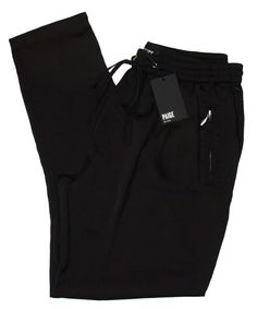 Paige Premium Womens Pants SHANI Silky Track Joggers Bottoms Black XS NEW $229 #PaigeDenim #CasualPants