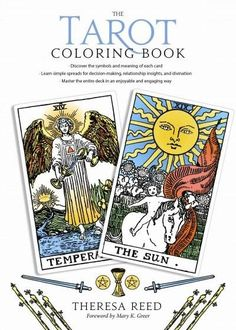Want to learn how to read tarot cards? Not sure where to start? With The Tarot Coloring Book , you can color your way through every card in the deck and go from tarot rookie to tarot rockstar in no time! #Tarot #TarotColoringBook