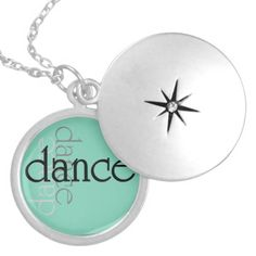 Dance Shadows Locket Necklace
