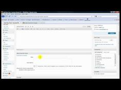 Beginner WordPress Tutorial Video: Overview of the WP Dashboard