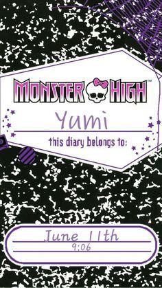 [Homepack Buzz]  Monster High Diary